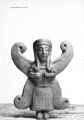 Thumbnail for Bucchero-Applik (geflügelte Frauenfigur)